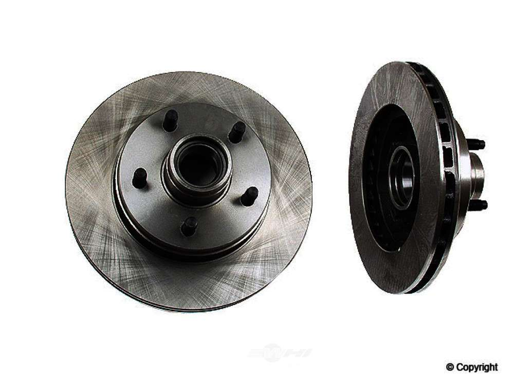Original -  Performance Disc Brake Rotor (Front Right) - WDX 405 18056 501