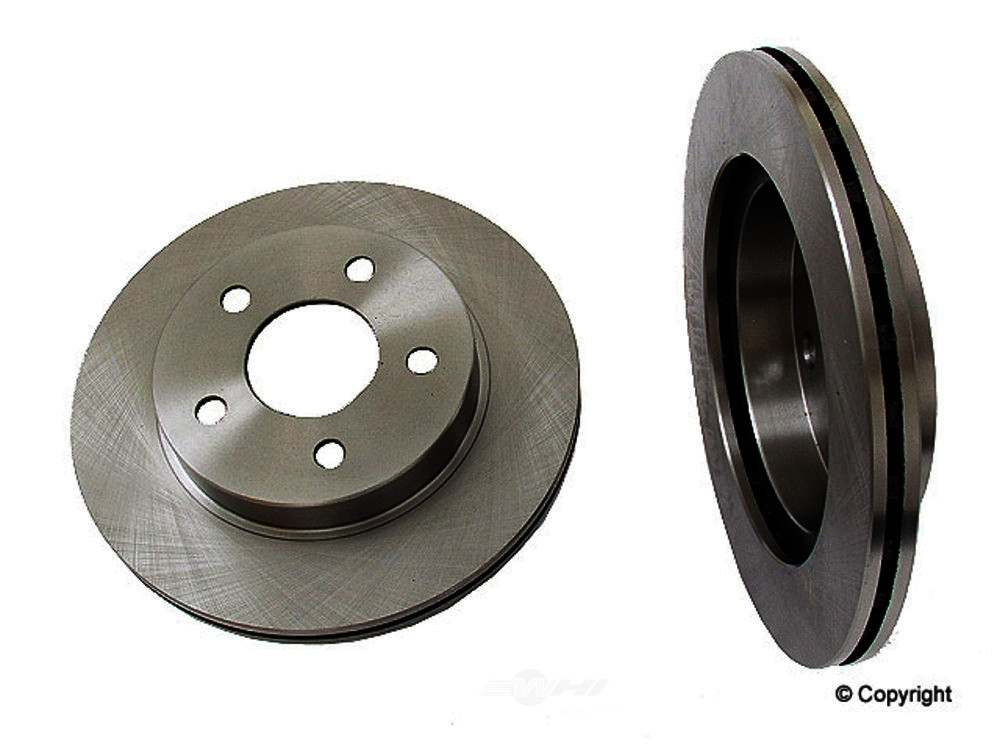 Original -  Performance Disc Brake Rotor - WDX 405 18015 501