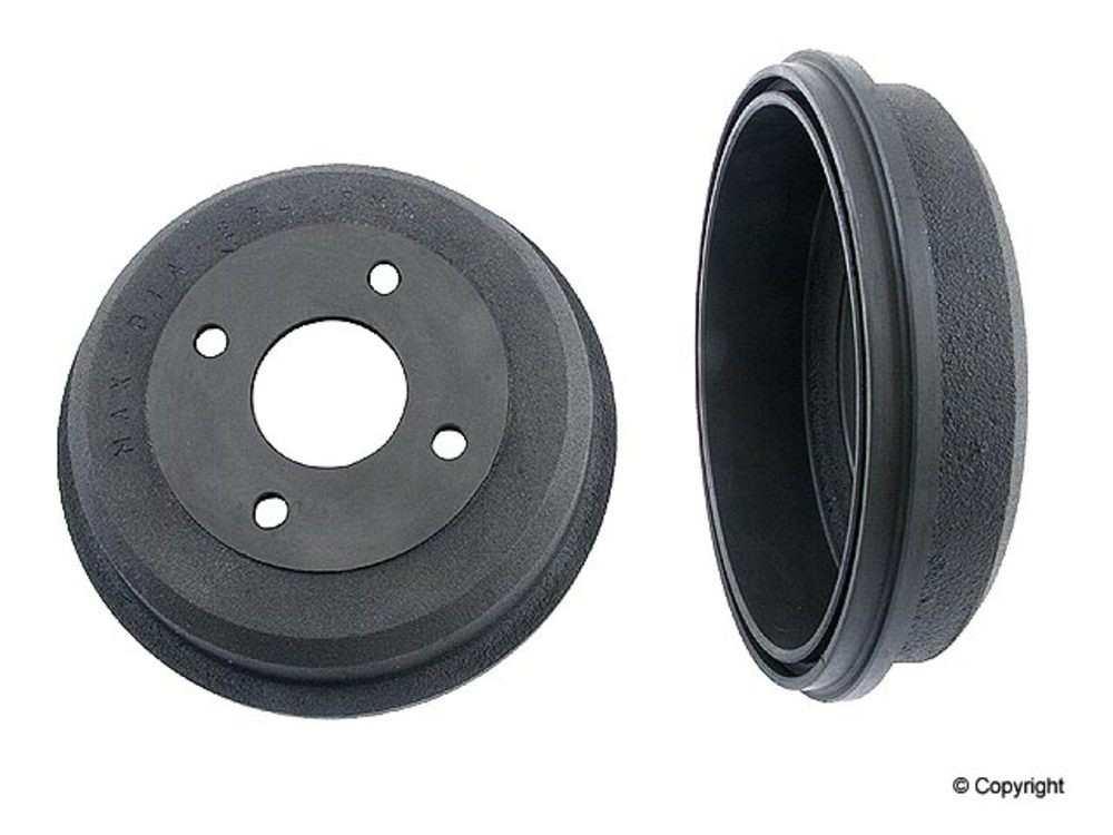 Original -  Performance Brake Drum (Rear) - WDX 406 18019 501
