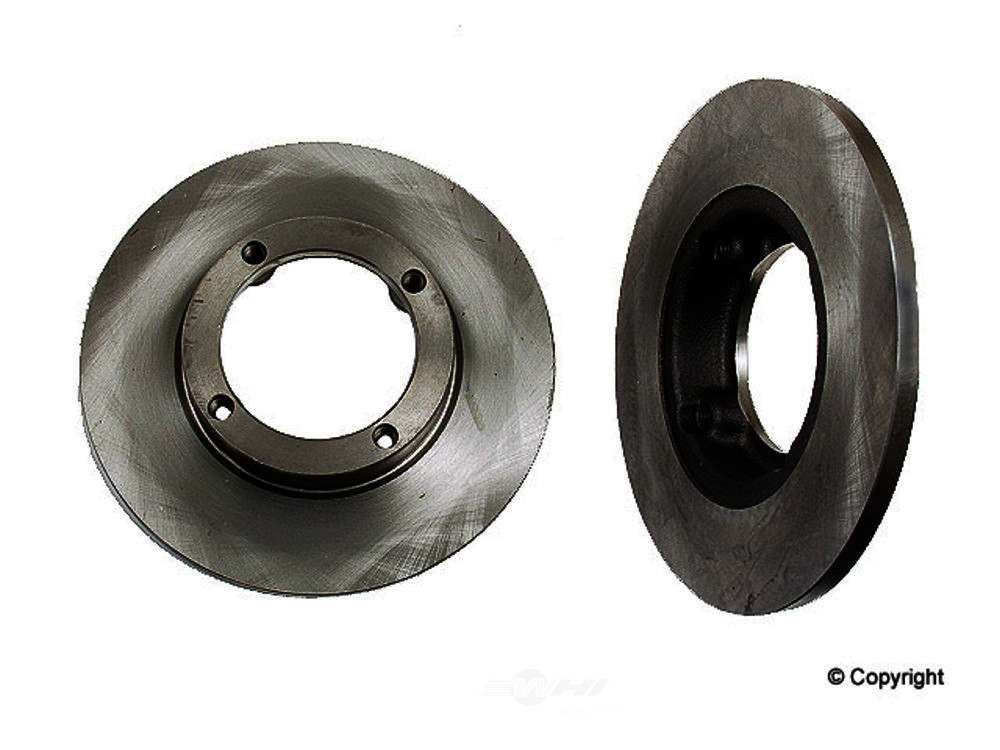 Original -  Performance Disc Brake Rotor - WDX 405 20004 501