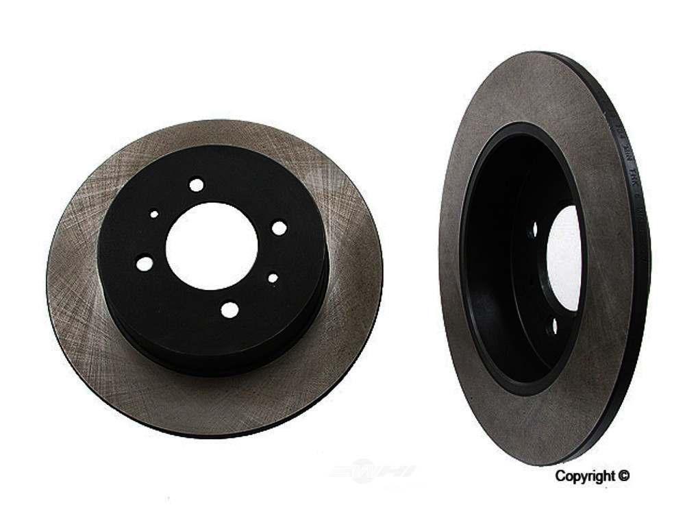 Original -  Performance Disc Brake Rotor - WDX 405 38057 501