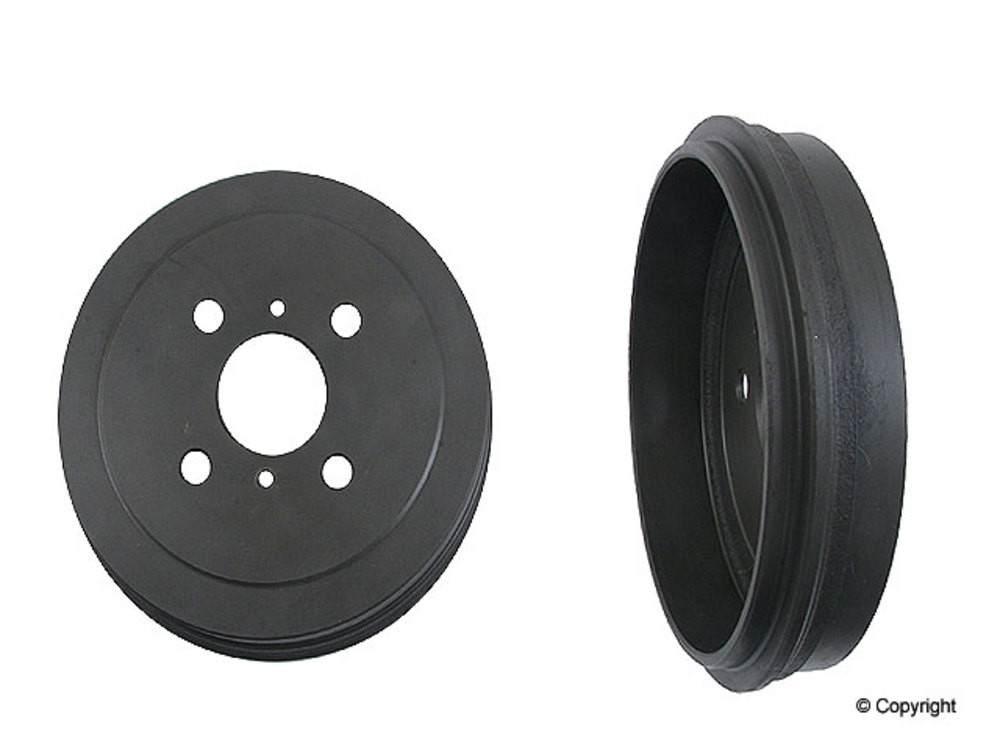 Original -  Performance Brake Drum (Rear) - WDX 406 51040 501