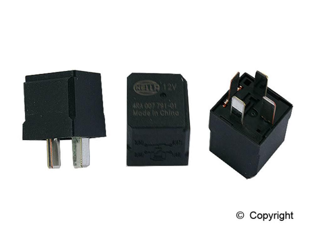 WD EXPRESS - Hella Fuel Pump Relay - WDX 835 33098 044