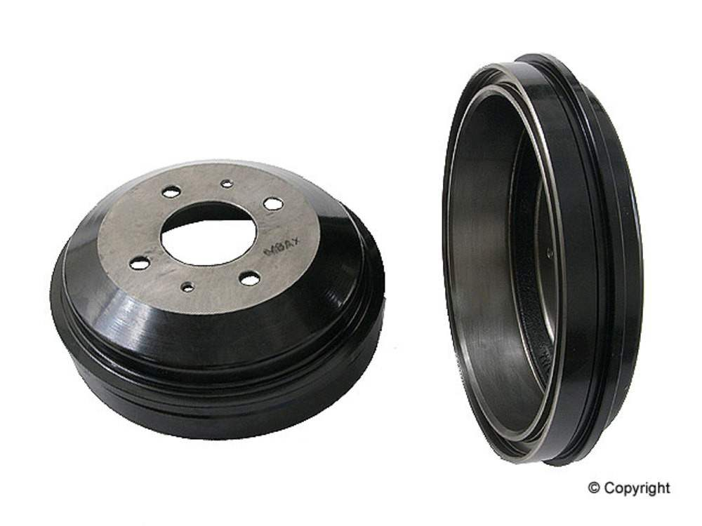 WD EXPRESS - Genuine Brake Drum (Rear) - WDX 406 23012 001