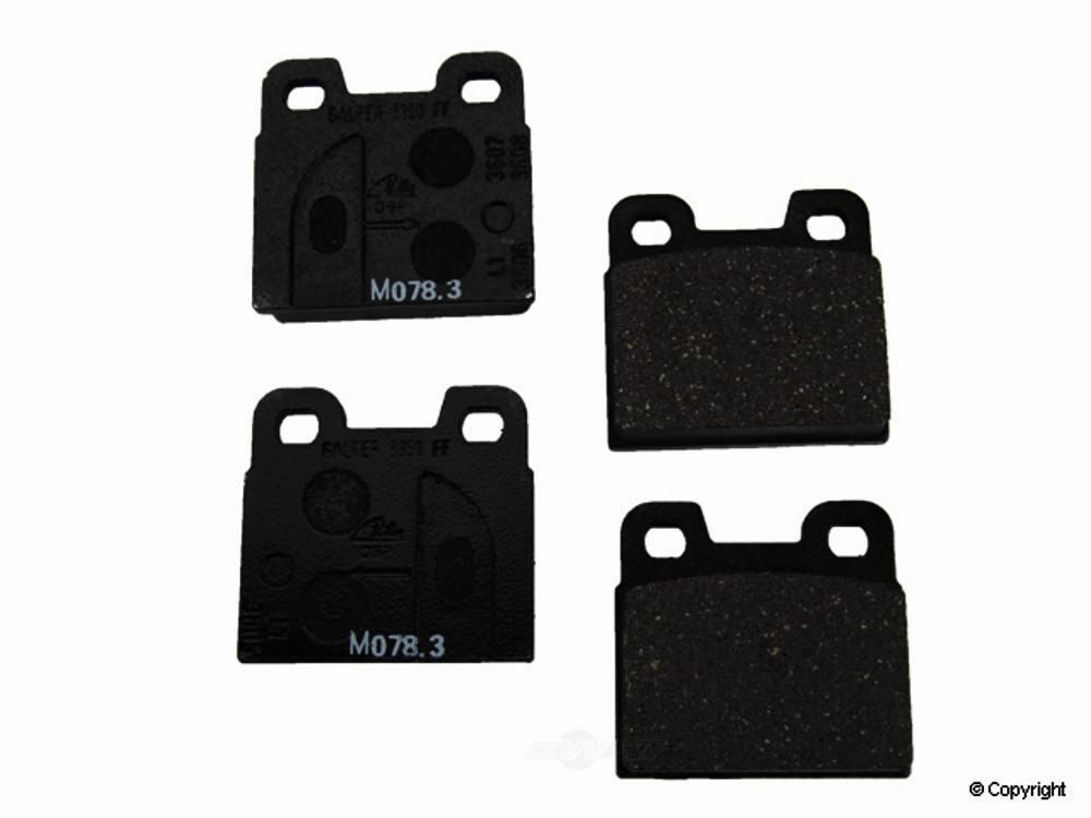 Ate -  Disc Brake Pad Set - WDX 520 01240 237