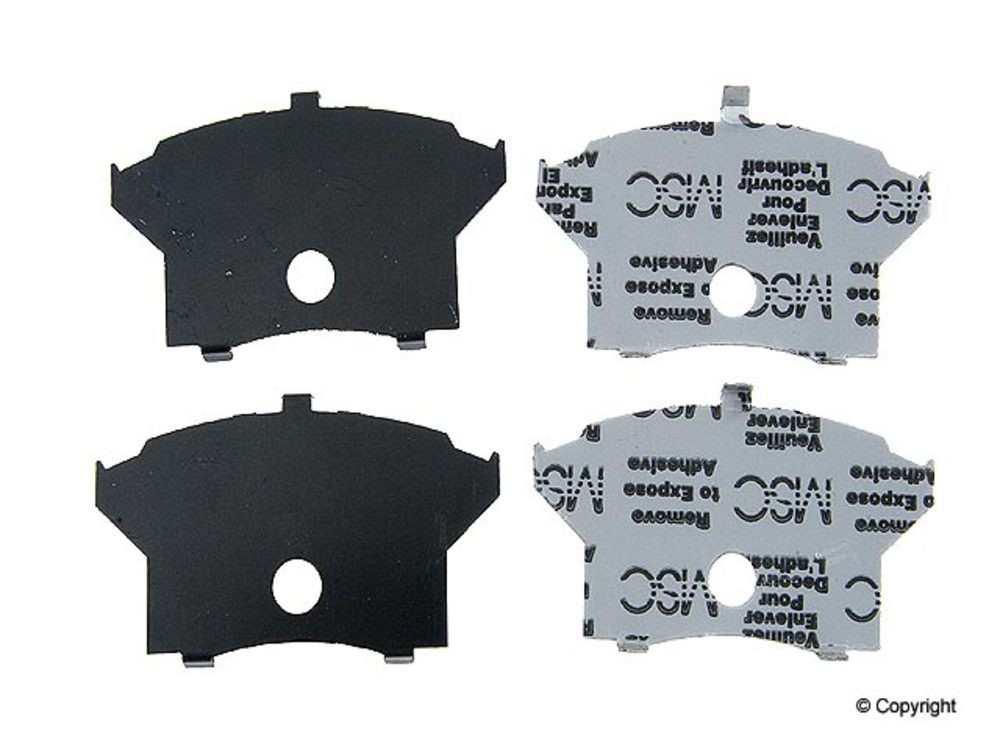 IMC MFG NUMBER CATALOG - BBP Disc Brake Pad Shim (Front) - IMM 8791