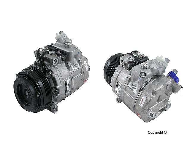 Behr Reman - Behr Remanufactured A/C Compressor - WDX 656 06030 149