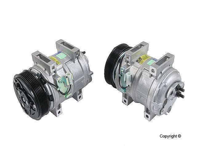 OE Supplier New - OE Supplier New A/C Compressor - WDX 656 53010 166