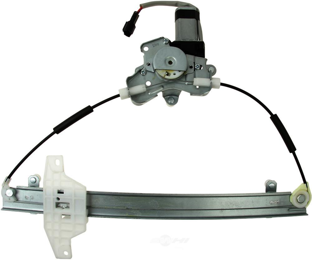Hansun -  Power Window Motor and Regulator Assembly - WDX 932 23026 769