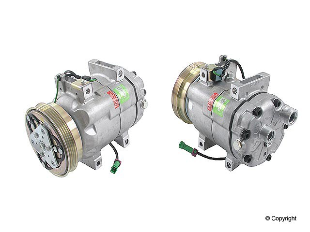 Behr New - Behr New A/C Compressor - WDX 656 54011 148