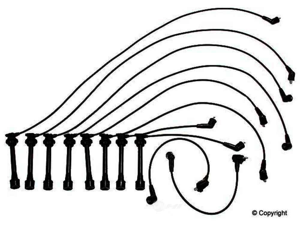 Original -  Performance Spark Plug Wire Set Spark Plug Wire Set - WDX 737 30004 501