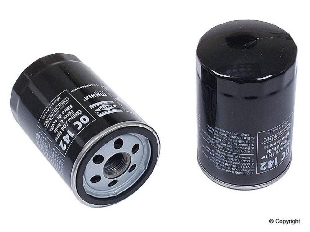Mahle -  Engine Oil Filter - WDX 091 43006 057