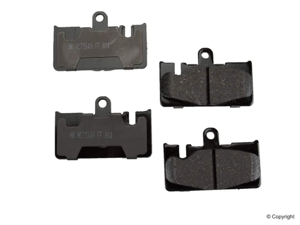Akebono -  ProACT Disc Brake Pad Set (Rear) - IMM ACT871