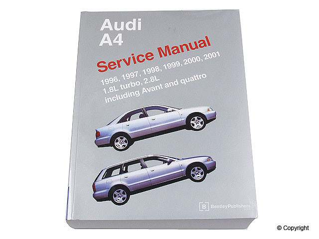 Bentley - Bentley Repair Manual - WDX 989 04003 243