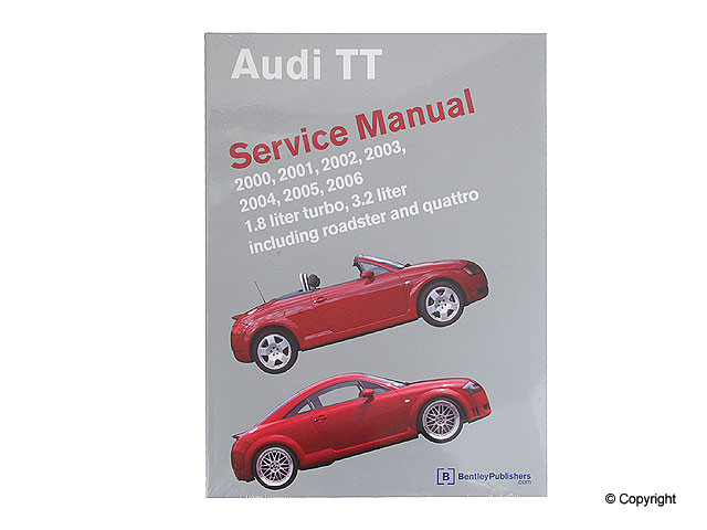 Bentley - Bentley Repair Manual - WDX 989 04005 243