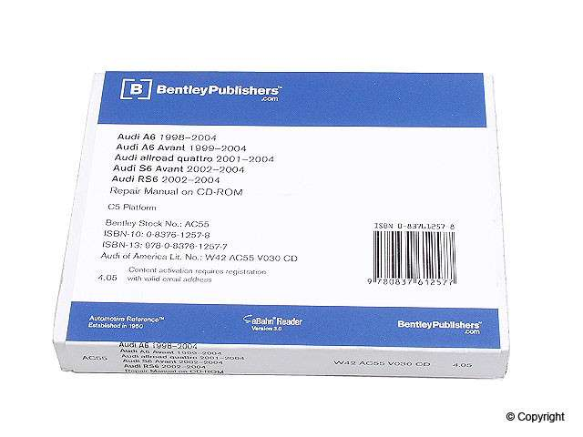 IMC - Bentley CD-ROM Repair Manual - IMC 989 04016 243