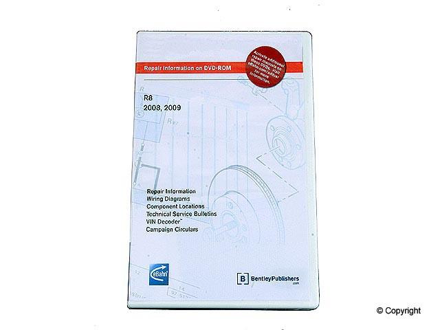 Bentley - Bentley CD-ROM Repair Manual - WDX 989 04011 243