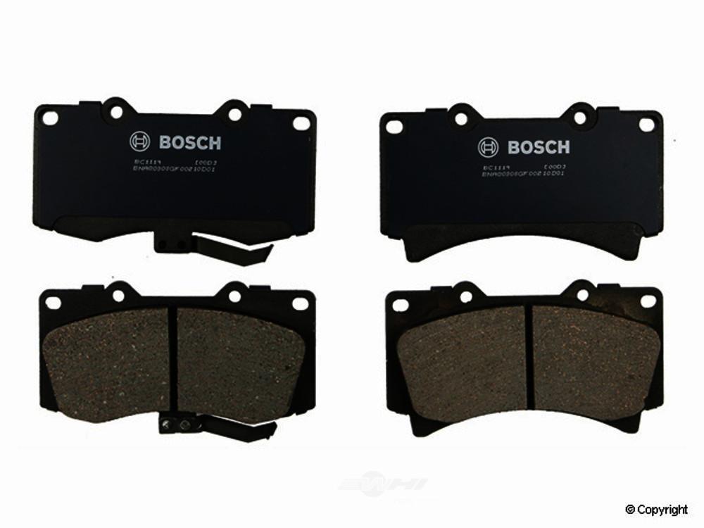 Bosch -  QuietCast Disc Brake Pad Set - WDX 520 11190 462
