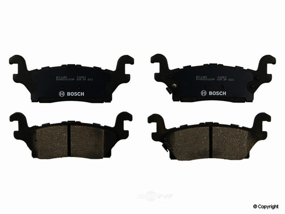 Bosch -  QuietCast Disc Brake Pad Set - WDX 520 11200 462