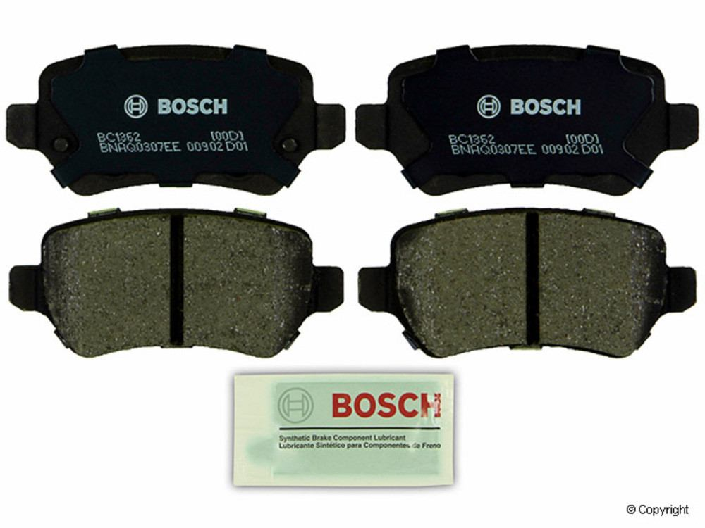 IMC MFG NUMBER CATALOG - Bosch QuietCast Disc Brake Pad Set (Rear) - IMM BC1362