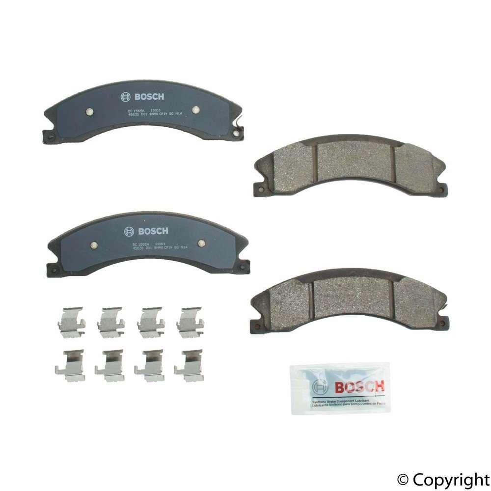 IMC MFG NUMBER CATALOG - Bosch QuietCast Disc Brake Pad Set (Rear) - IMM BC1565A