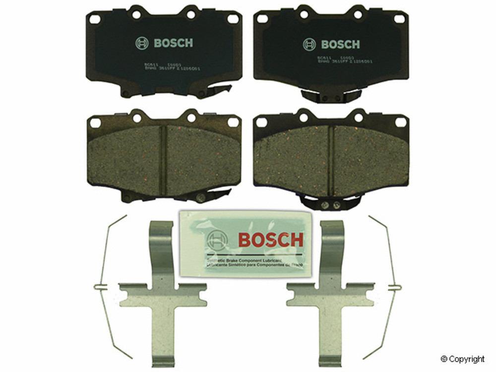 Bosch -  QuietCast Disc Brake Pad Set (Front) - IMM BC611