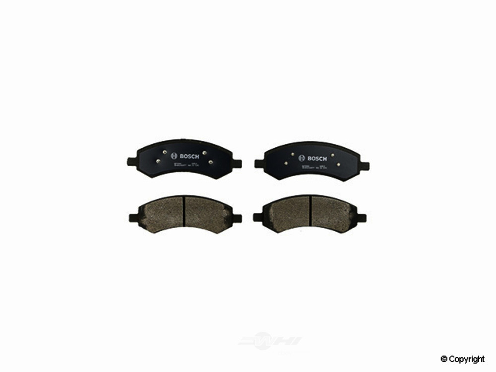 Bosch -  QuietCast Disc Brake Pad Set - WDX 520 10840 462