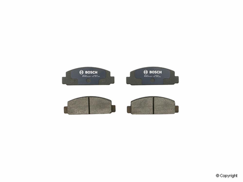 Bosch -  QuietCast Disc Brake Pad Set (Front) - IMM BP131