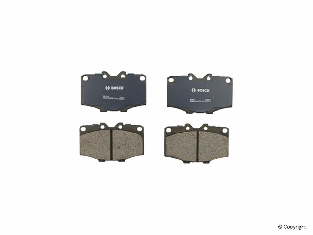 Bosch -  QuietCast Disc Brake Pad Set (Front) - IMM BP137