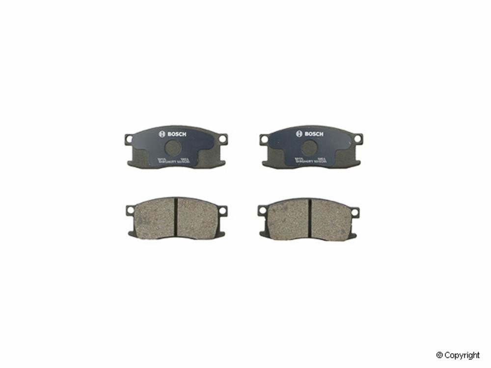 Bosch -  QuietCast Disc Brake Pad Set (Front) - IMM BP176