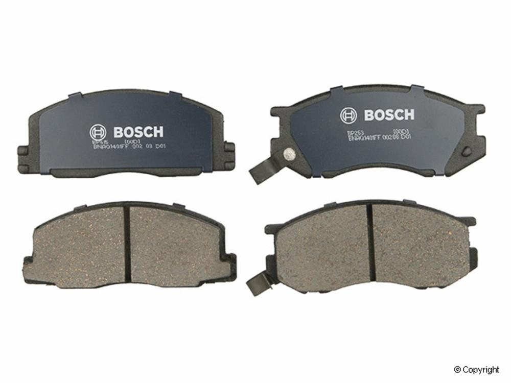 IMC MFG NUMBER CATALOG - Bosch QuietCast Disc Brake Pad Set (Front) - IMM BP263