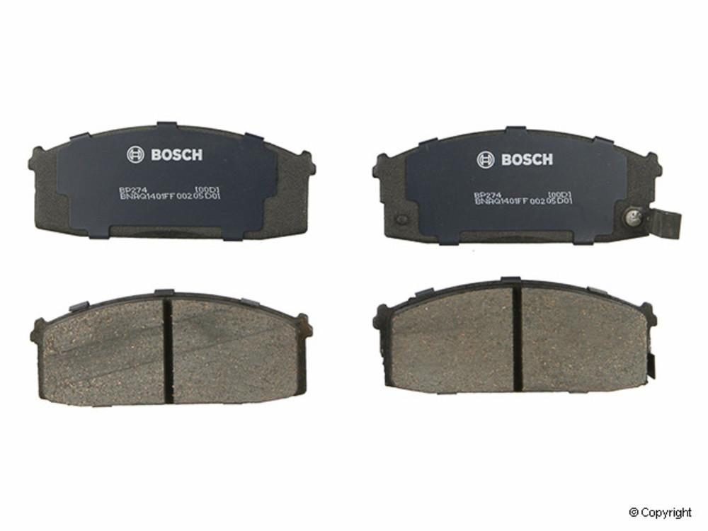 Bosch -  QuietCast Disc Brake Pad Set (Front) - IMM BP274