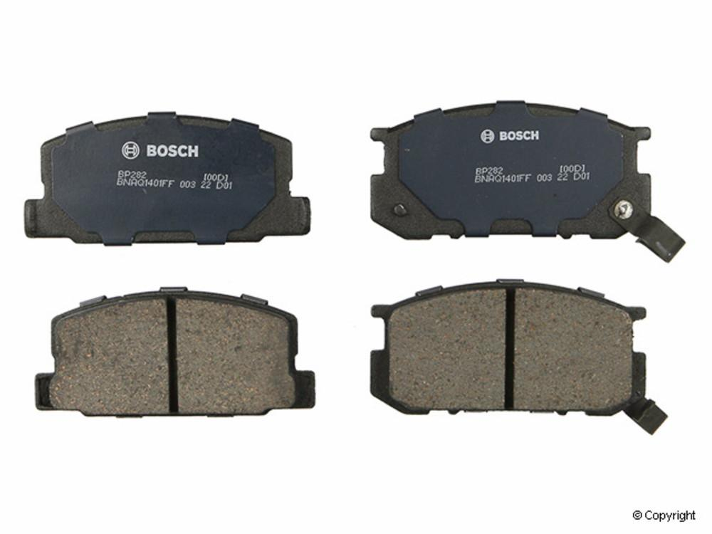 Bosch -  QuietCast Disc Brake Pad Set (Front) - IMM BP282