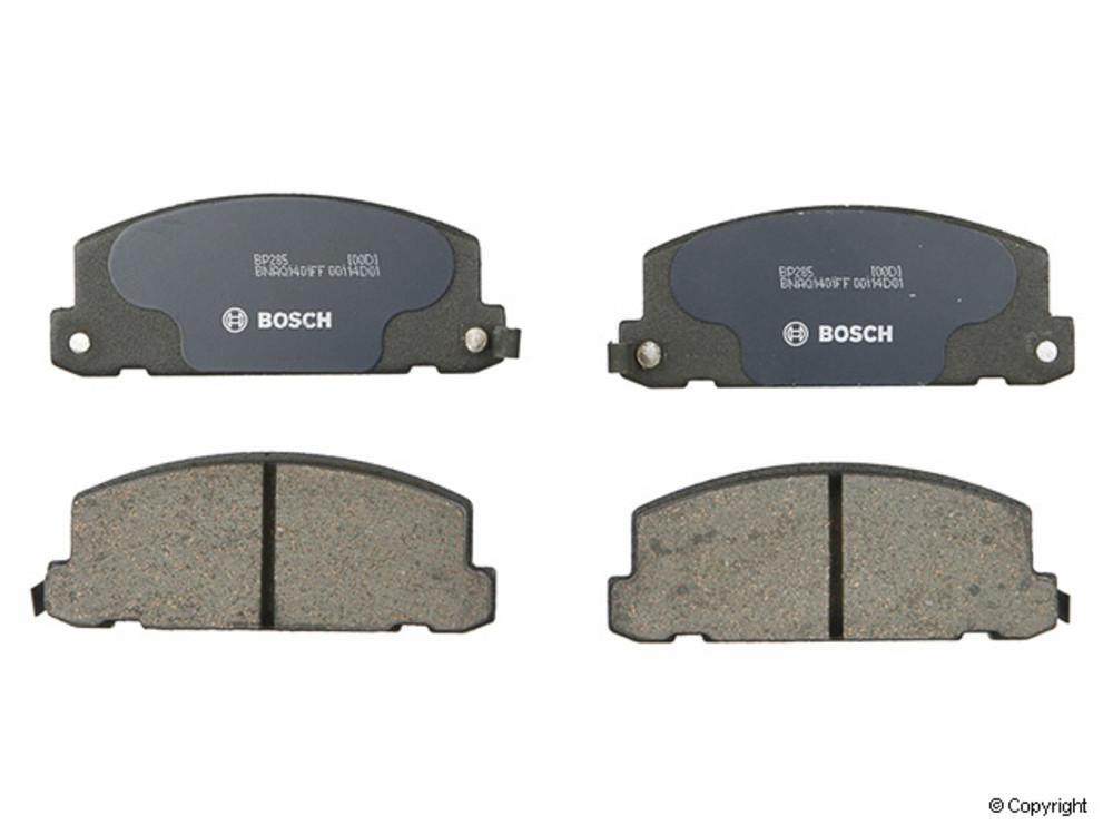 Bosch - Bosch QuietCast Disc Brake Pad Set (Front) - IMM BP285