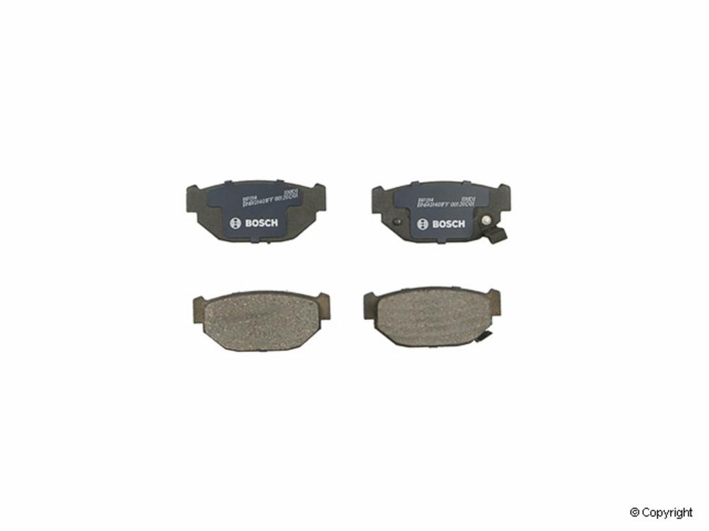 IMC MFG NUMBER CATALOG - Bosch QuietCast Disc Brake Pad Set (Rear) - IMM BP314