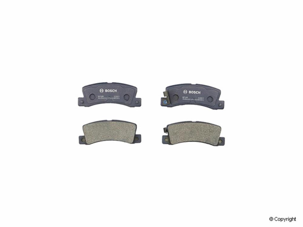 IMC MFG NUMBER CATALOG - Bosch QuietCast Disc Brake Pad Set (Rear) - IMM BP325