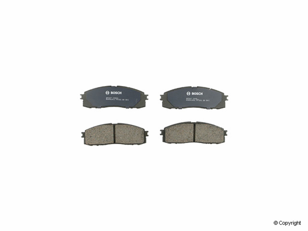 Bosch - Bosch QuietCast Disc Brake Pad Set (Rear) - IMM BP337
