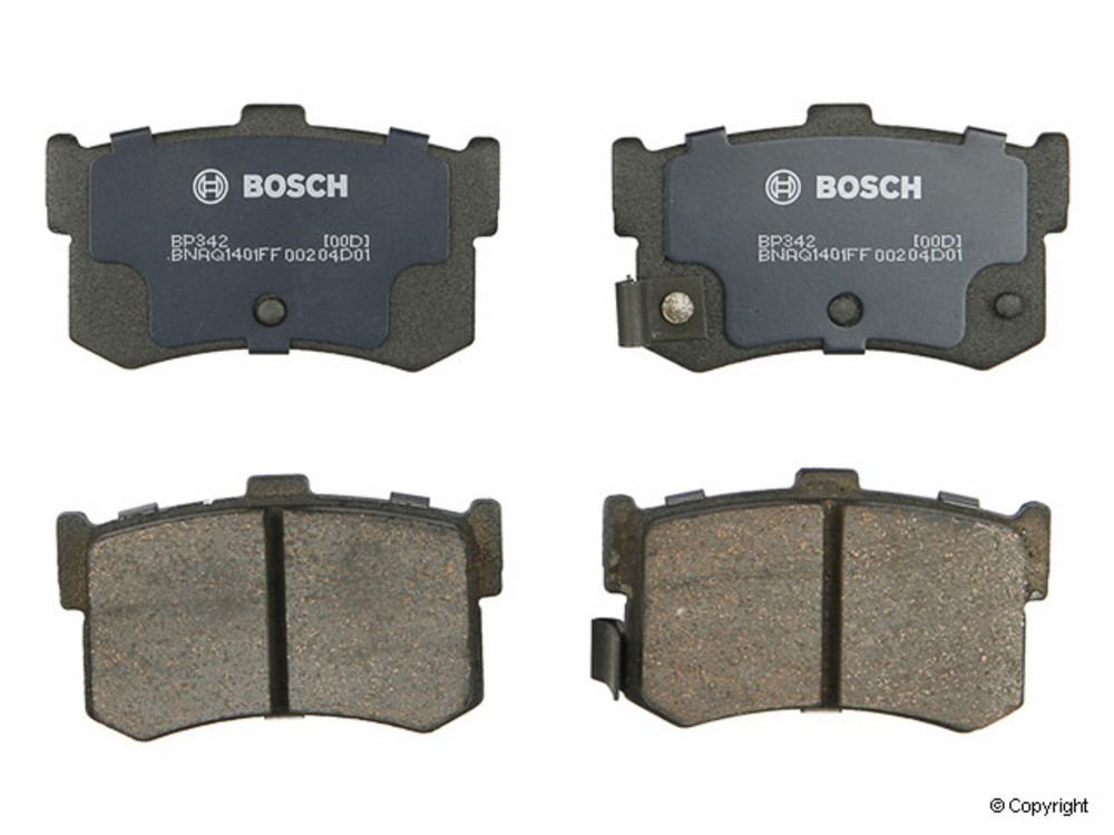 Bosch - Bosch QuietCast Disc Brake Pad Set (Rear) - IMM BP342