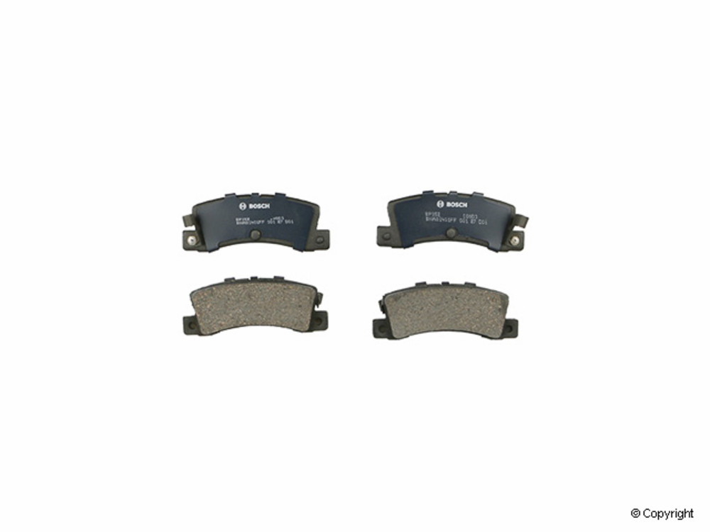 IMC MFG NUMBER CATALOG - Bosch QuietCast Disc Brake Pad Set (Rear) - IMM BP352