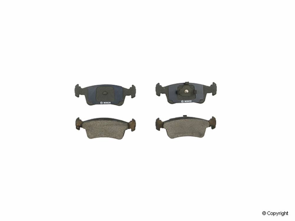 IMC MFG NUMBER CATALOG - Bosch QuietCast Disc Brake Pad Set (Front) - IMM BP359