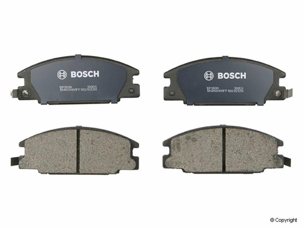Bosch - Bosch QuietCast Disc Brake Pad Set (Front) - IMM BP363A