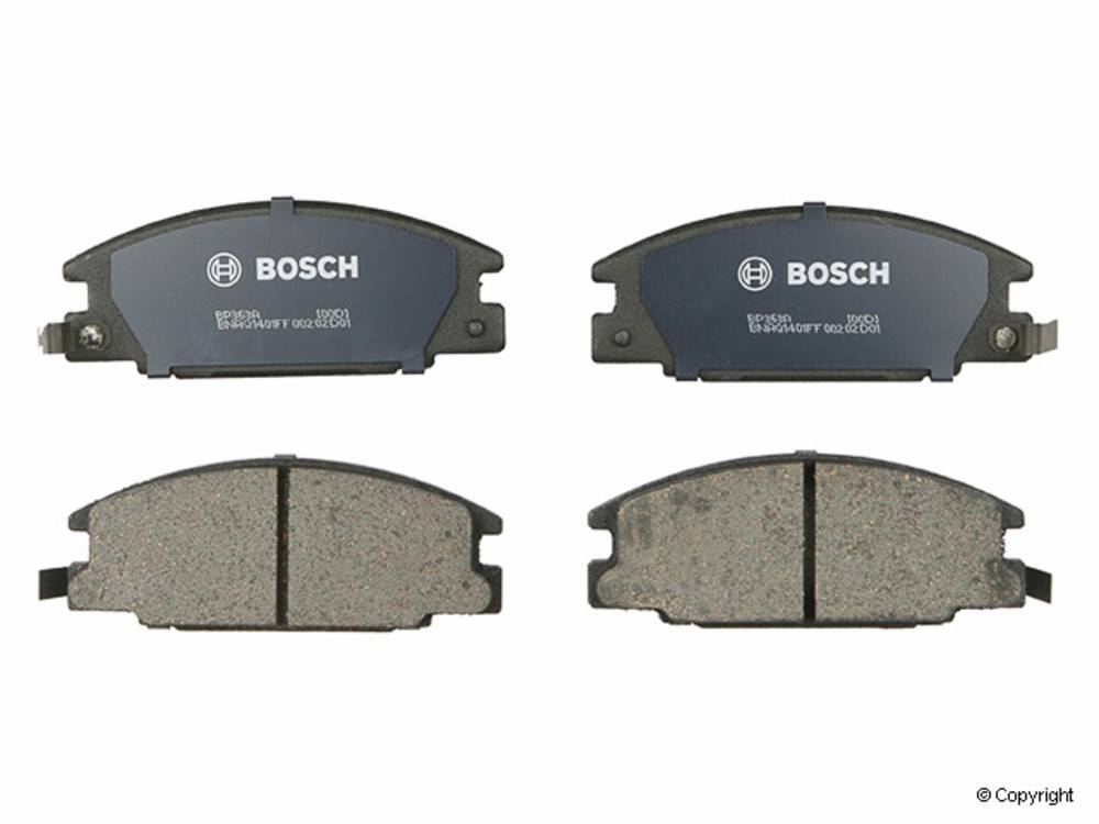 IMC MFG NUMBER CATALOG - Bosch QuietCast Disc Brake Pad Set (Front) - IMM BP363A