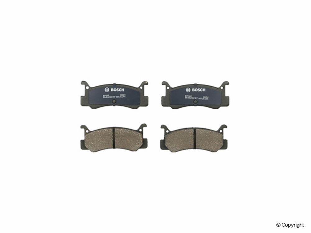 IMC MFG NUMBER CATALOG - Bosch QuietCast Disc Brake Pad Set (Rear) - IMM BP366