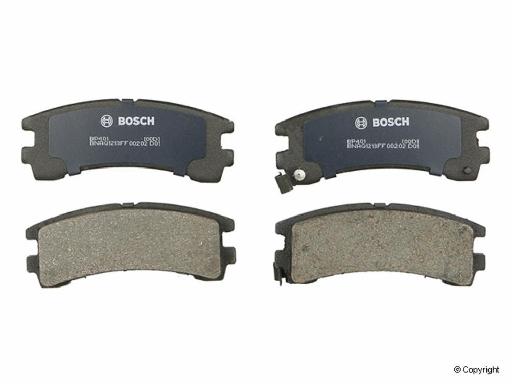 IMC MFG NUMBER CATALOG - Bosch QuietCast Disc Brake Pad Set (Rear) - IMM BP401