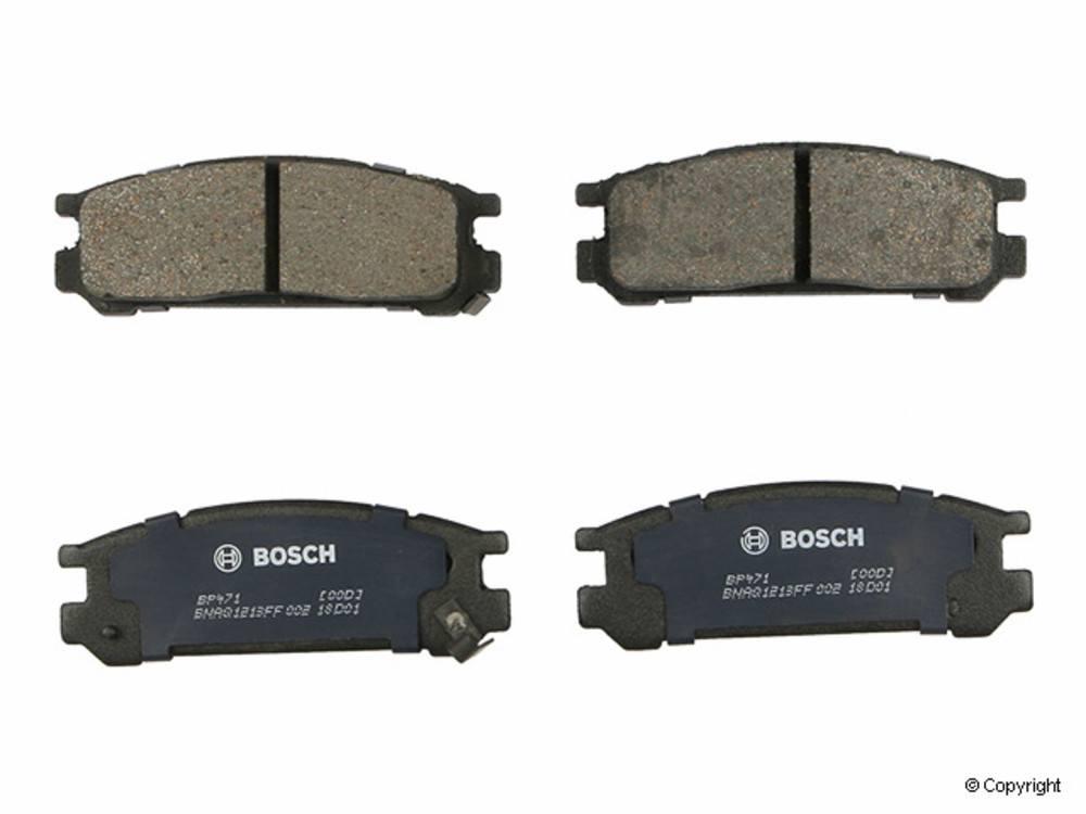 Bosch - Bosch QuietCast Disc Brake Pad Set (Rear) - IMM BP471