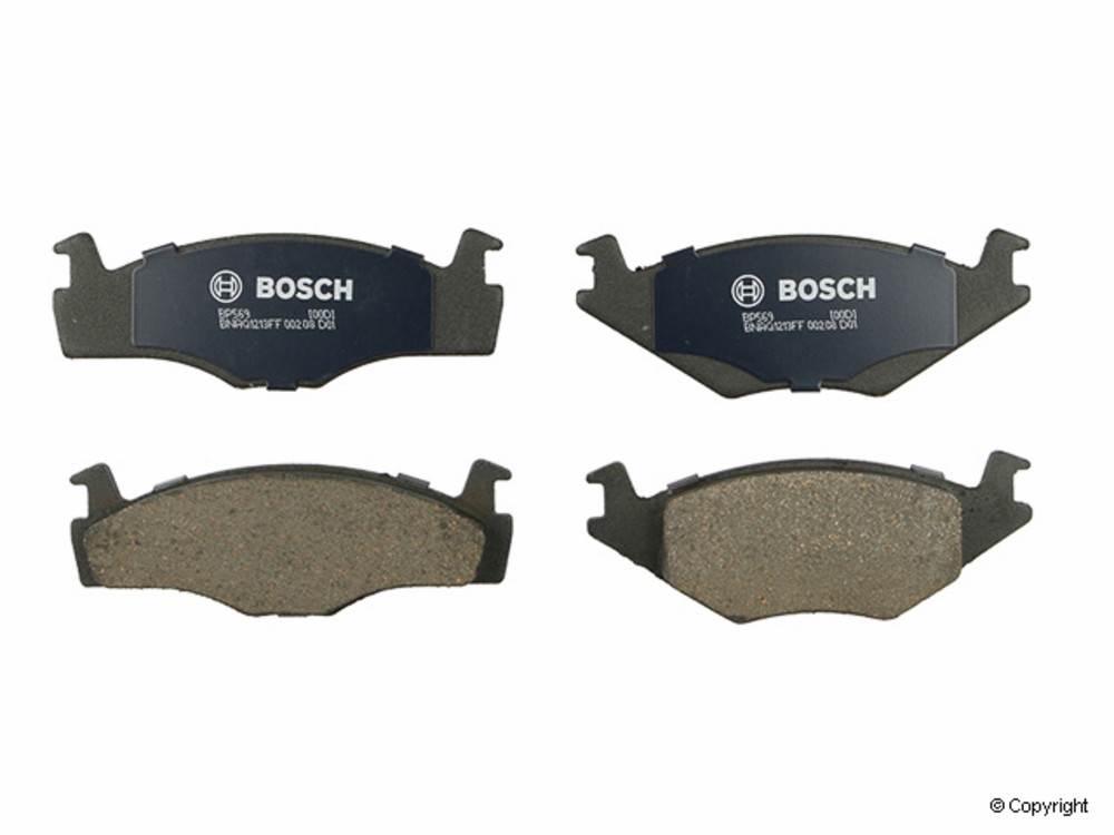 Bosch -  QuietCast Disc Brake Pad Set (Front) - IMM BP569