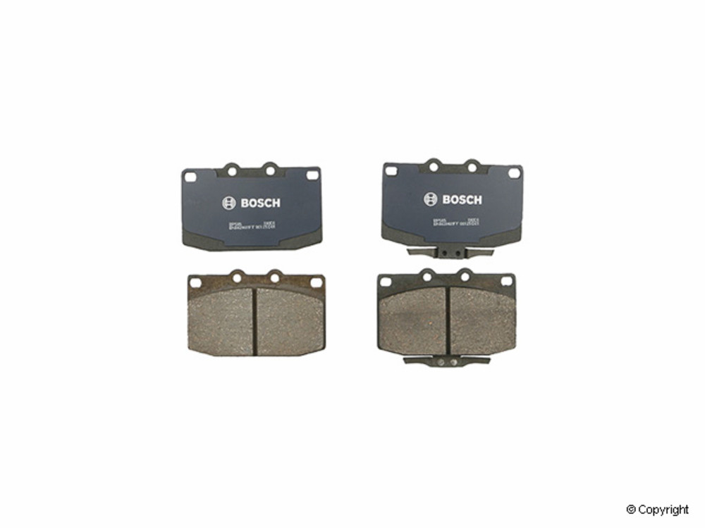 IMC MFG NUMBER CATALOG - Bosch QuietCast Disc Brake Pad Set (Front) - IMM BP585