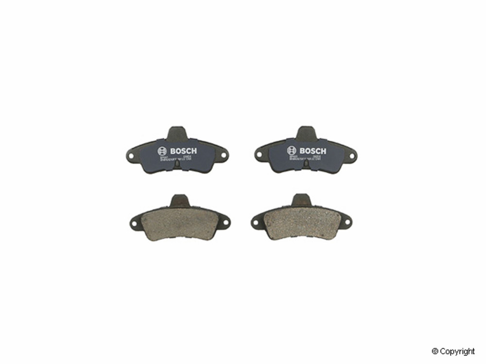 IMC MFG NUMBER CATALOG - Bosch QuietCast Disc Brake Pad Set (Rear) - IMM BP661