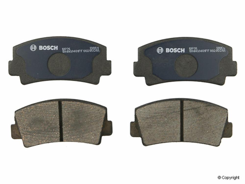 IMC MFG NUMBER CATALOG - Bosch QuietCast Disc Brake Pad Set (Front) - IMM BP76