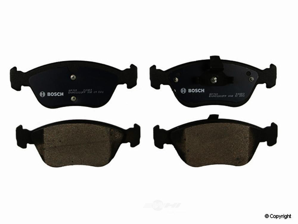 Bosch -  QuietCast Disc Brake Pad Set (Front) - WDX 520 06181 462